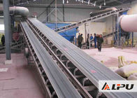 Long Distance Transportasi Tambang Conveyor Belt Lebar 500mm Untuk Slag