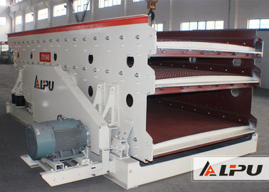 Cina 3 Lapisan Elliptic Vibrating Machine Screening Pada Mineral Screening Tanaman pabrik