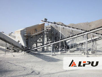 Cina Stationary Lengkap Stone Crushing Plant Equipment Dengan CE IQNet Distributor