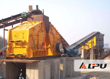 Cina 350kw Impact Stone Crushing & Screening Plant / Stone Crushing Line Distributor