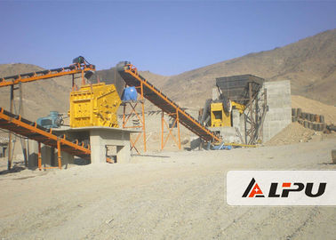 Cina High Crushing Ratio Stone Crushing Plant, Stone Jaw Crusher Machine 200t / h Distributor